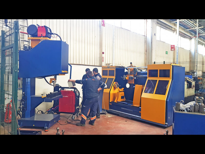 Circular Seam Welding Machine circular seam welding machine, roller welding system, seam welder, girth welding machine, circular welding automation, hydraulic cyclinder welder, tig welding machine