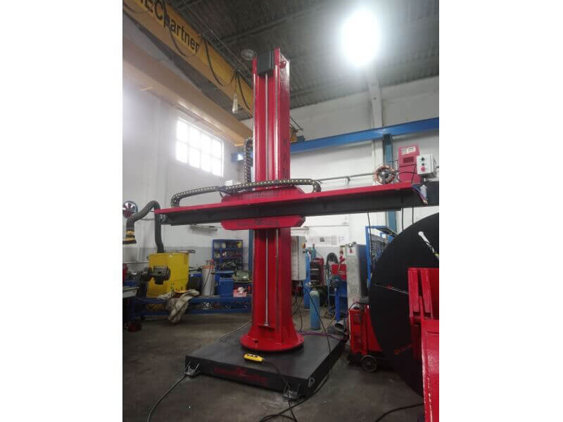 Column Boom Systems