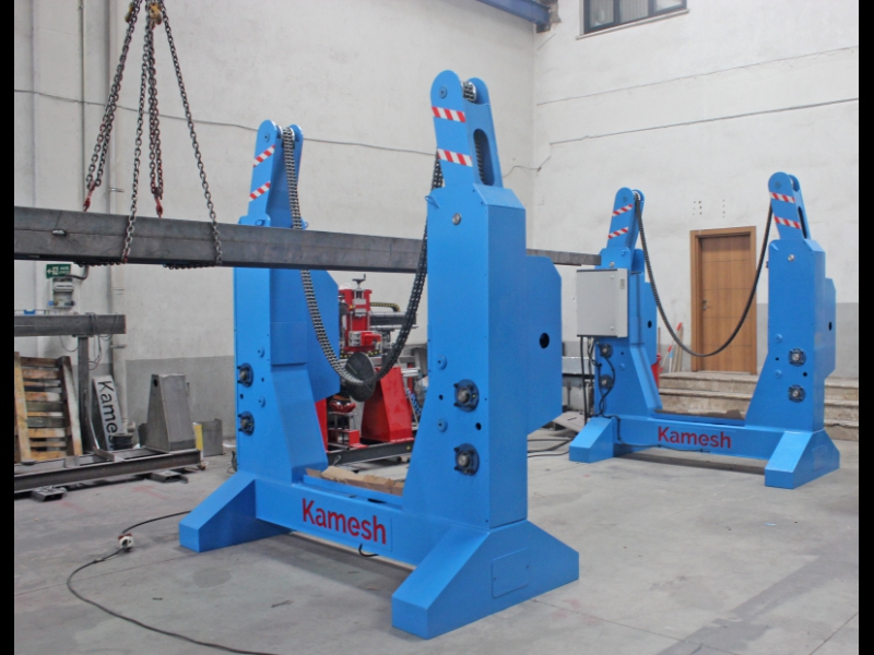 Chain Type Rotator, Beam Rotator for Welding Chain Type Rotator, Chain Rotator, Beam Rotator, Column Rotator, Turning Device for Welding, Column Boom Rotator, Chain Rotating Machine, Chain Overturning Machine, Welding Rotator, Beam Rotator for Welding